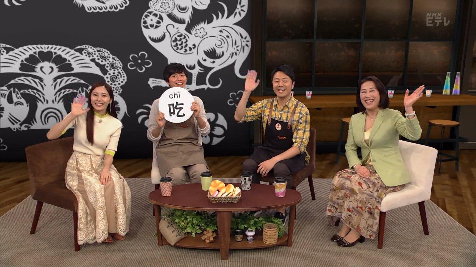 佐野ひなこ_ニット_おっぱい_テレビで中国語_14