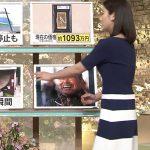 【森川夕貴アナエロ画像】『報道ステーション』柔らかそうなオッパイが強調されてイイ感じすぎる件!