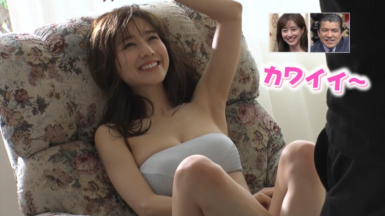 田中みな実_女子アナ_おっぱい_水着_サンデージャポン_07