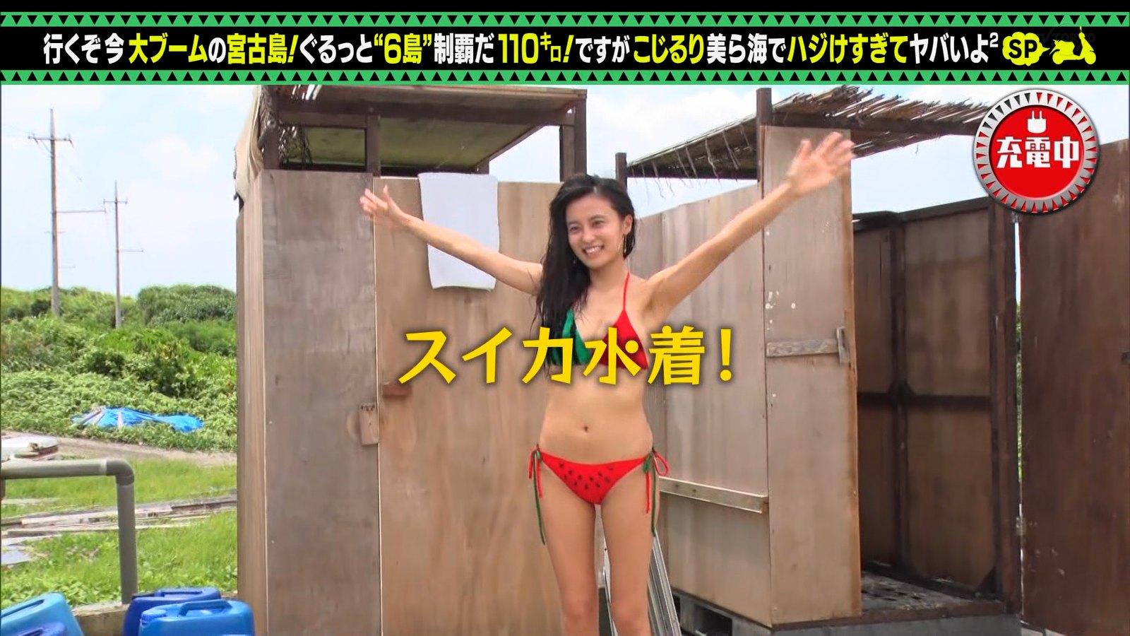 小島瑠璃子_ビキニ水着_お尻_キャプエロ画像_15