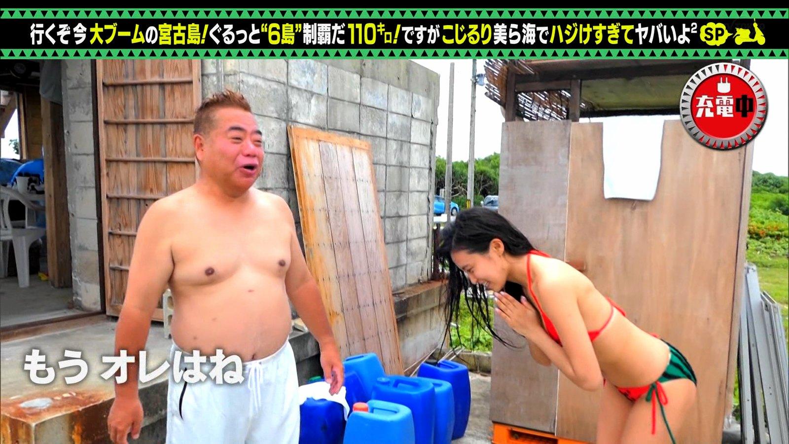 小島瑠璃子_ビキニ水着_お尻_キャプエロ画像_19
