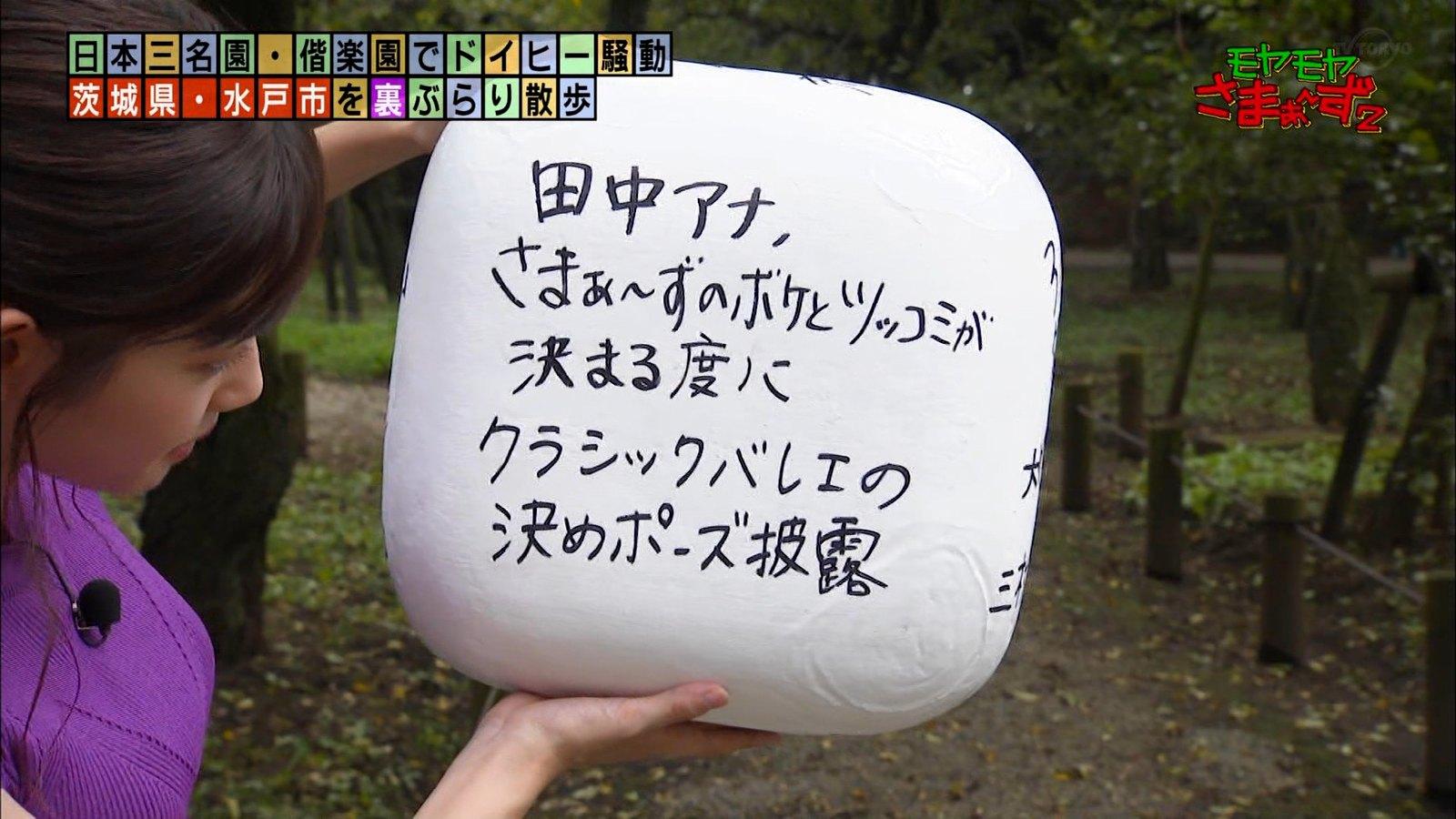 田中瞳_女子アナ_ノースリーブ_モヤモヤさまぁ~ず2_31