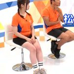 【画像あり】『Going!Sports&News』橋本環奈(20)の着衣オッパイとムチムチした太ももがエッチすぎた件!