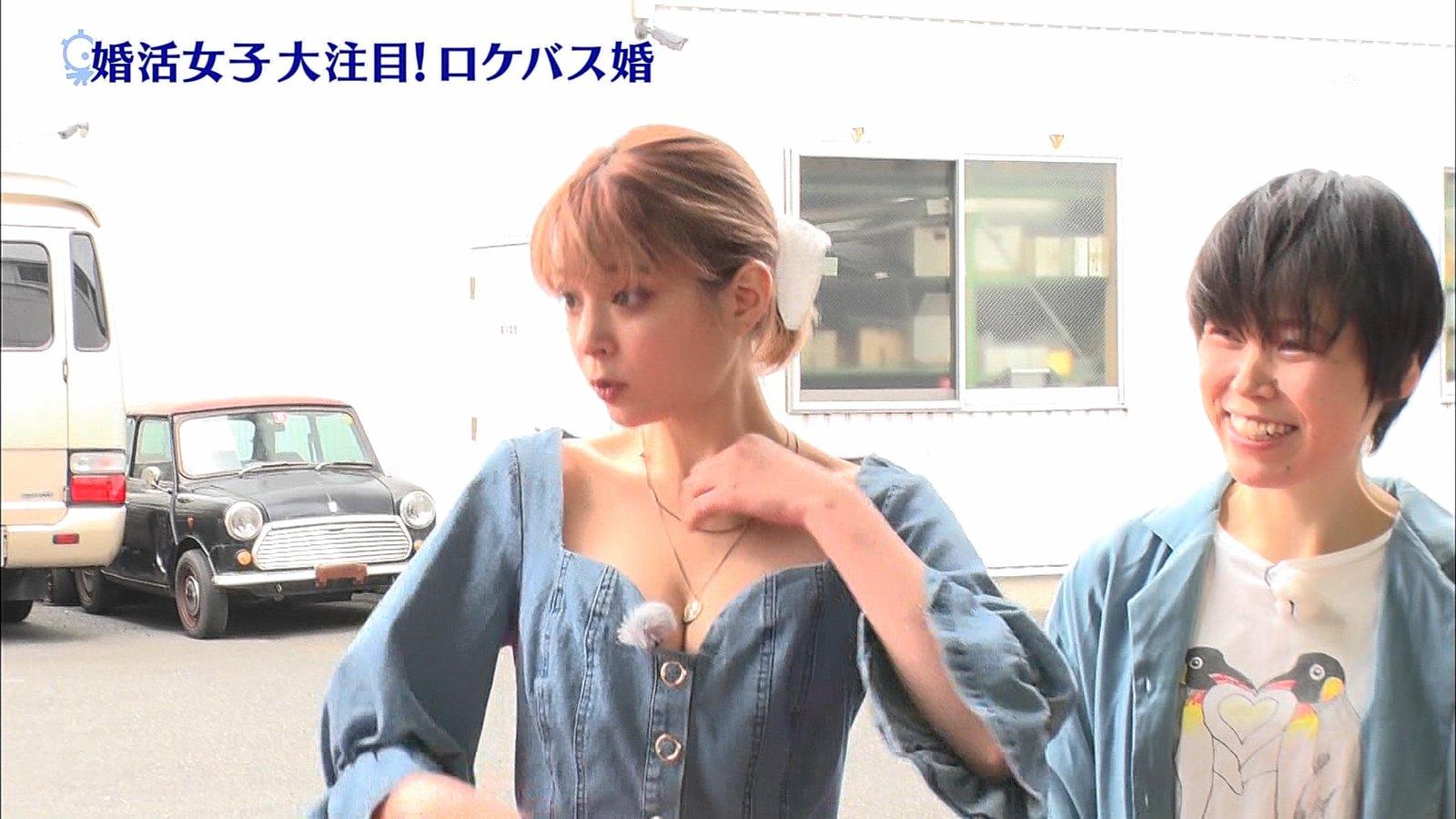 瑛茉ジャスミン_胸チラ_谷間_おっぱい_タモリ倶楽部_03