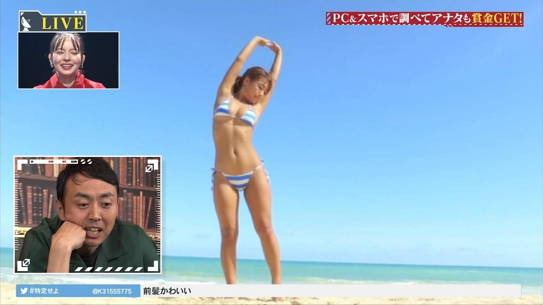 橋本梨菜_巨乳谷間_乳揺れ_テレビキャプエロ画像_15