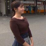 【GIF画像あり】『モヤモヤさまぁ~ず2』田中瞳アナの可愛いお顔とニットおっぱいに癒された件!