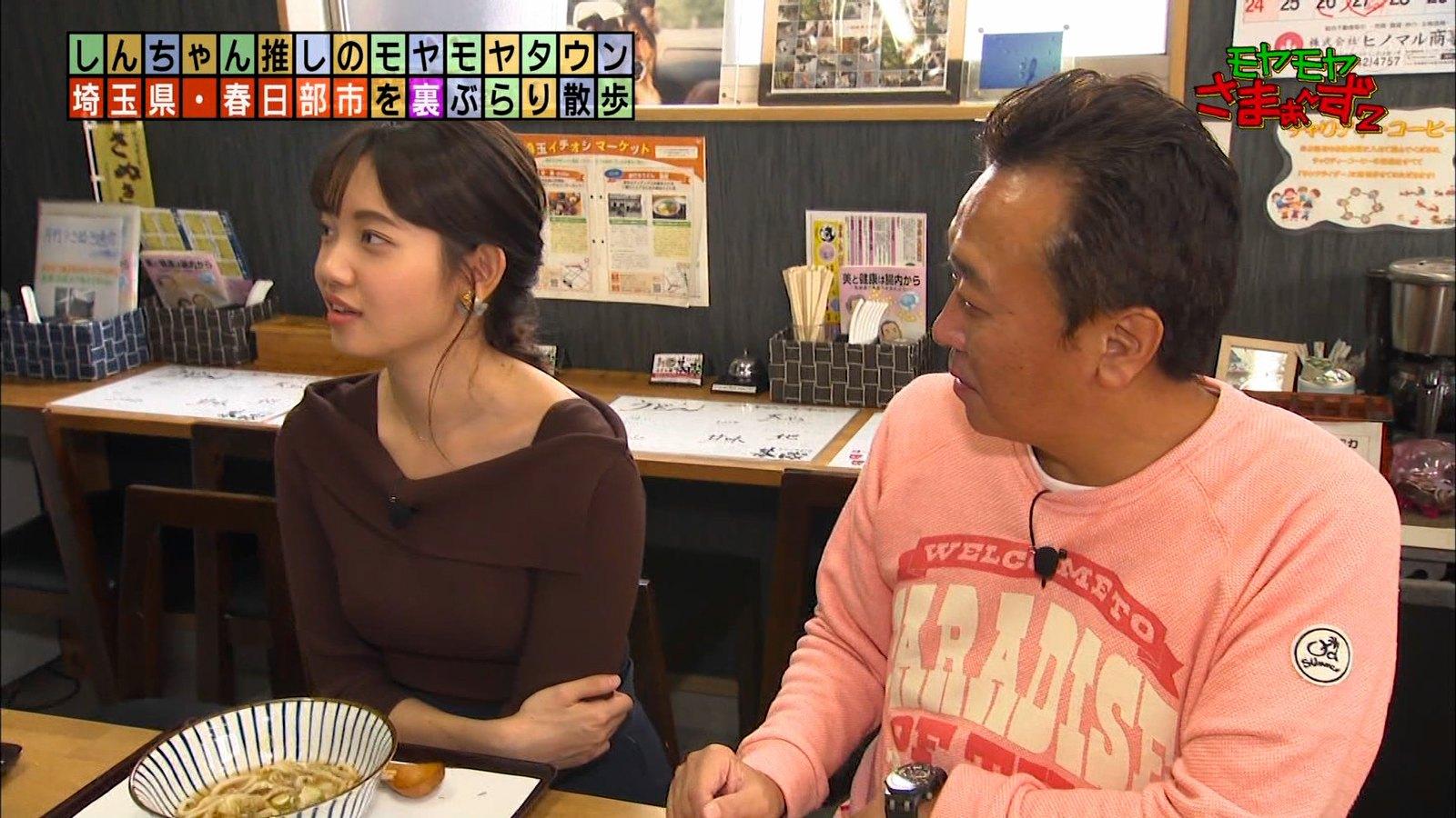 田中瞳_女性アナウンサー_ニットおっぱい_エロ画像_39