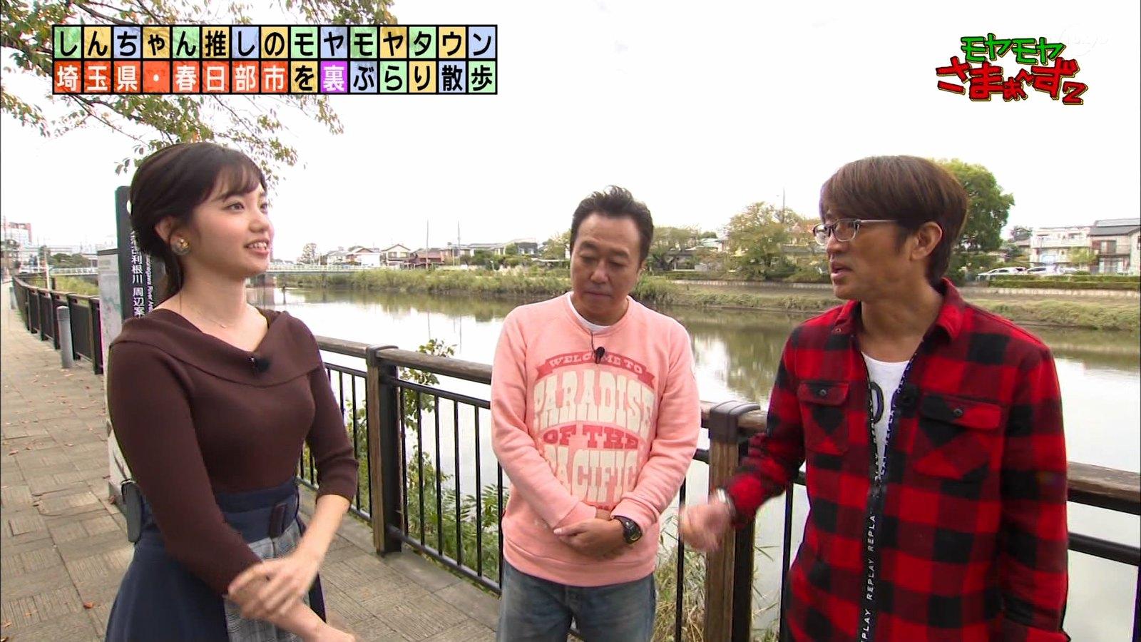田中瞳_女性アナウンサー_ニットおっぱい_エロ画像_46