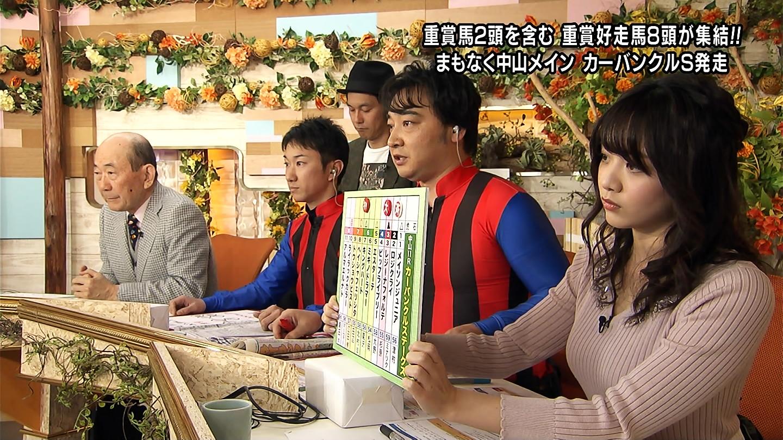 森香澄_女子アナ_ニットおっぱい_ウイニング競馬_15