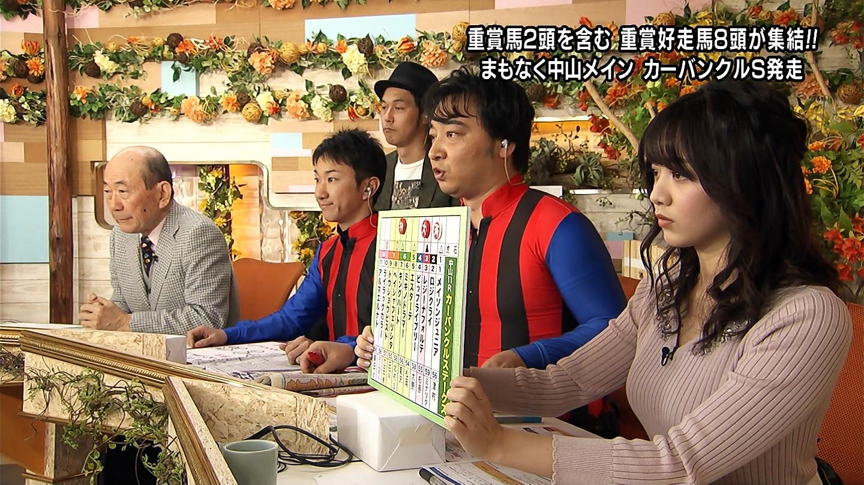 森香澄_女子アナ_ニットおっぱい_ウイニング競馬_16