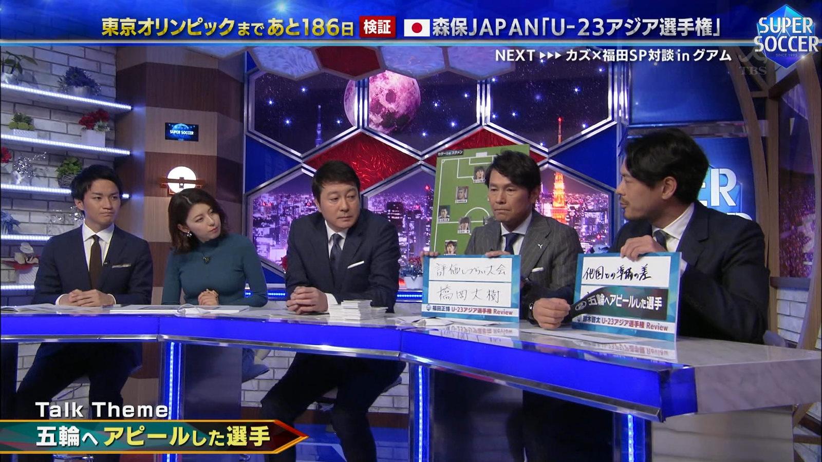 上村彩子_女子アナ_おっぱい_スーパーサッカー_09