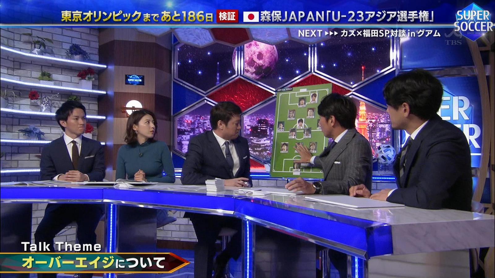 上村彩子_女子アナ_おっぱい_スーパーサッカー_11