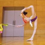 【画像あり】『めざましテレビ』新体操界期待の星の美少女のハイレグレオタード姿がエチエチだった件!