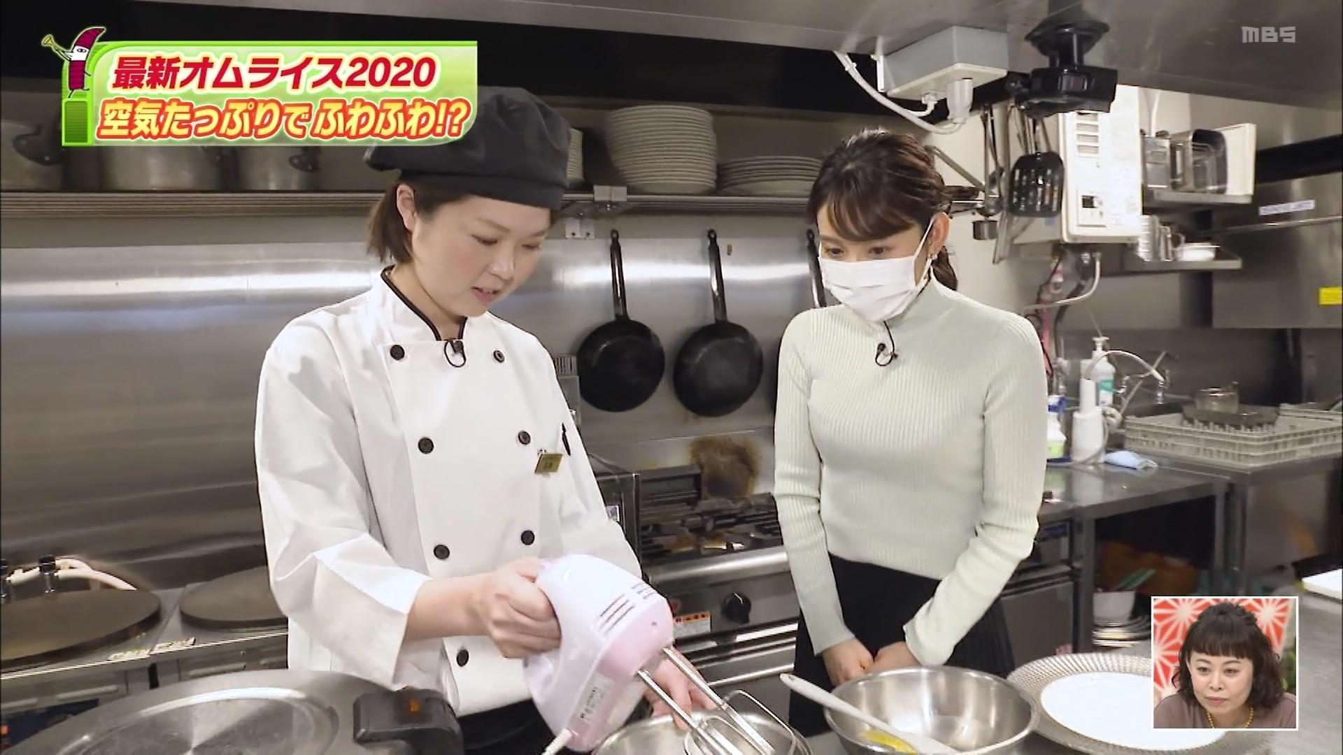 野嶋紗己子_女子アナ_着衣オッパイ_ちちんぷいぷい_11