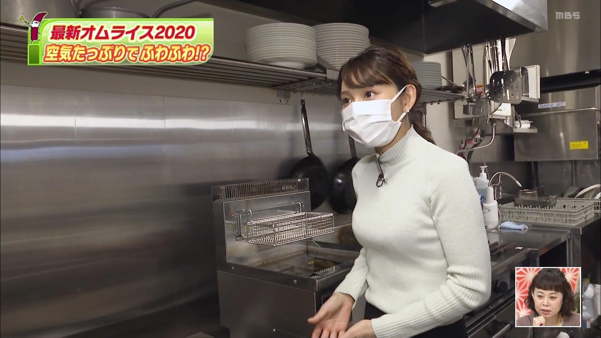 野嶋紗己子_女子アナ_着衣オッパイ_ちちんぷいぷい_14