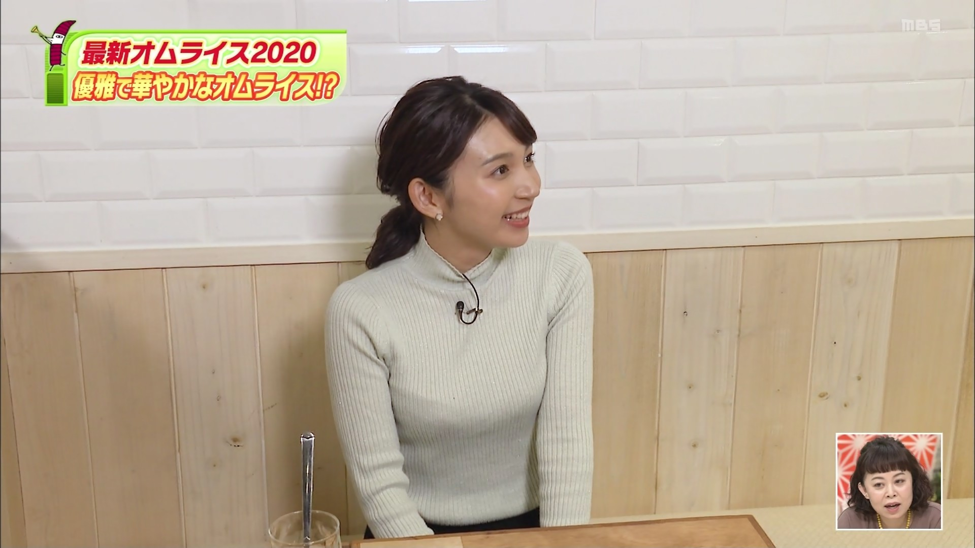 野嶋紗己子_女子アナ_着衣オッパイ_ちちんぷいぷい_15