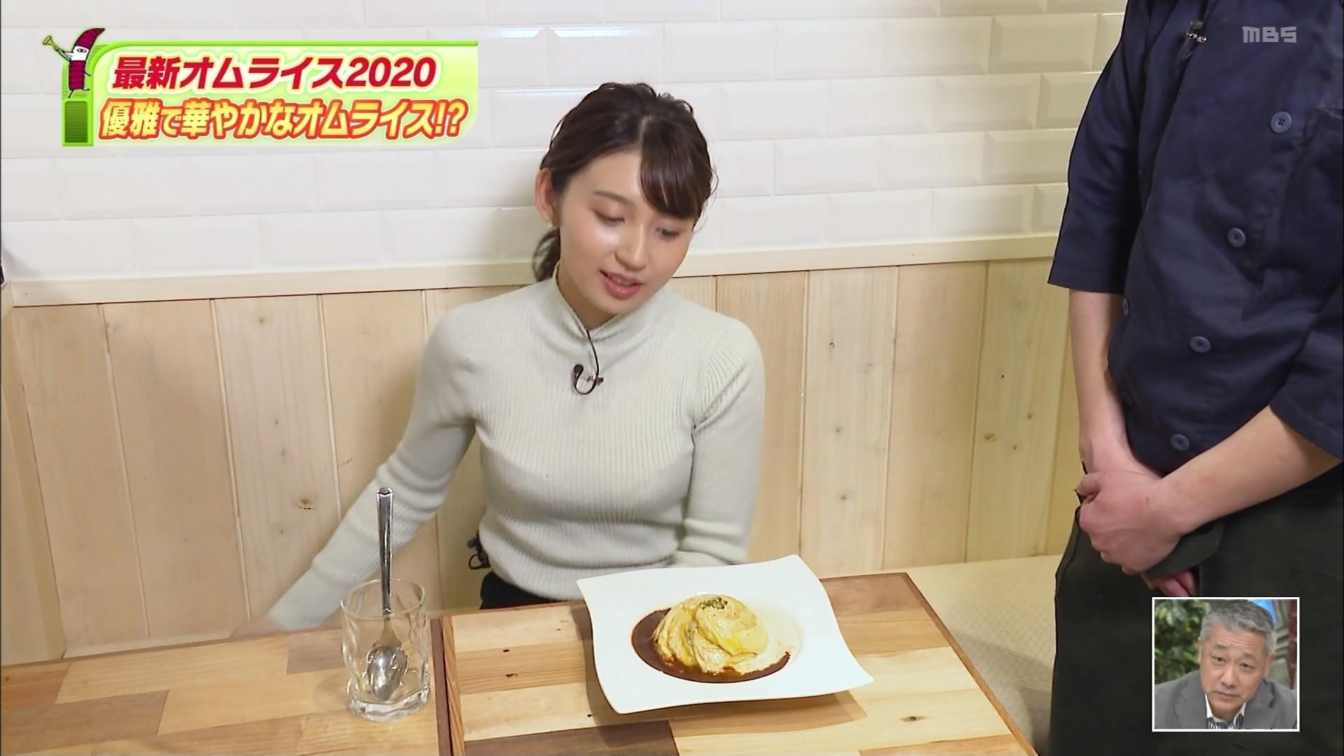 野嶋紗己子_女子アナ_着衣オッパイ_ちちんぷいぷい_21