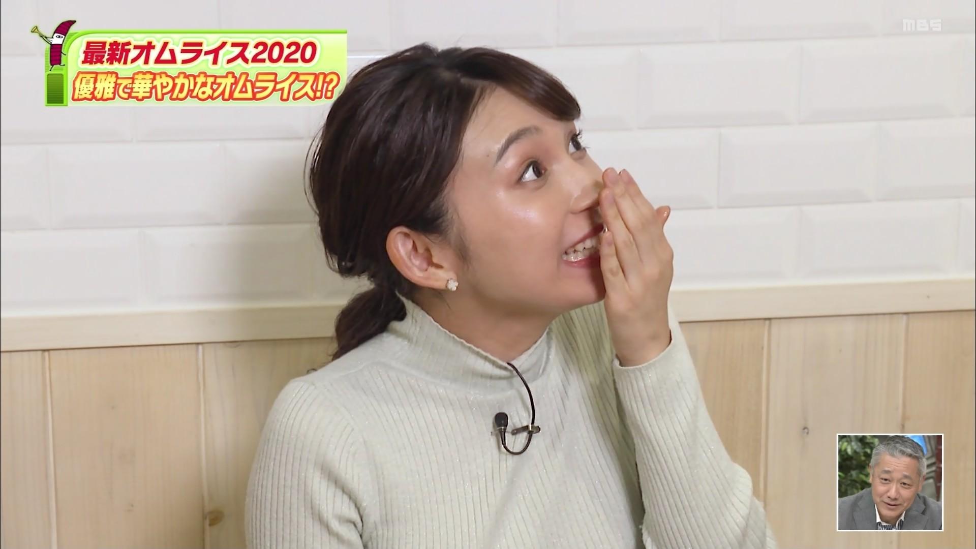 野嶋紗己子_女子アナ_着衣オッパイ_ちちんぷいぷい_25