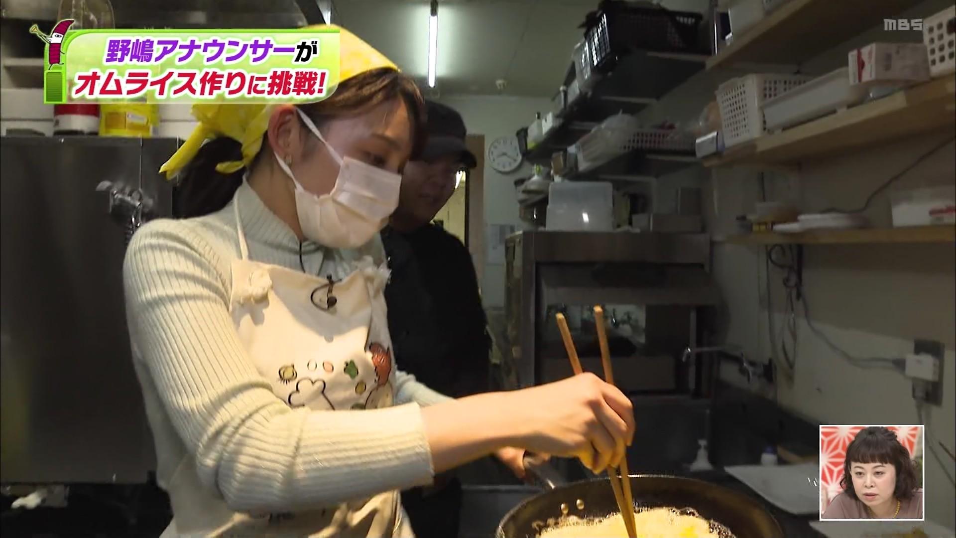野嶋紗己子_女子アナ_着衣オッパイ_ちちんぷいぷい_33