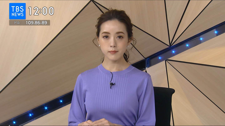 古谷有美_女子アナ_着衣巨乳_テレビキャプ画像_01