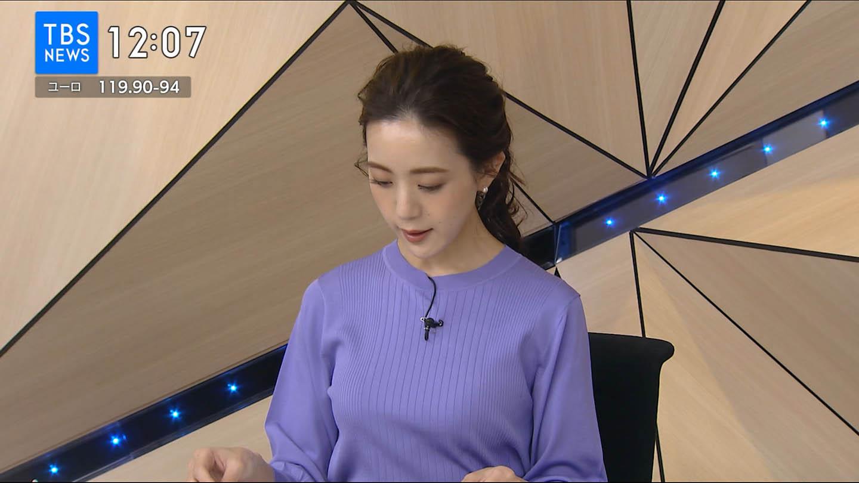 古谷有美_女子アナ_着衣巨乳_テレビキャプ画像_05