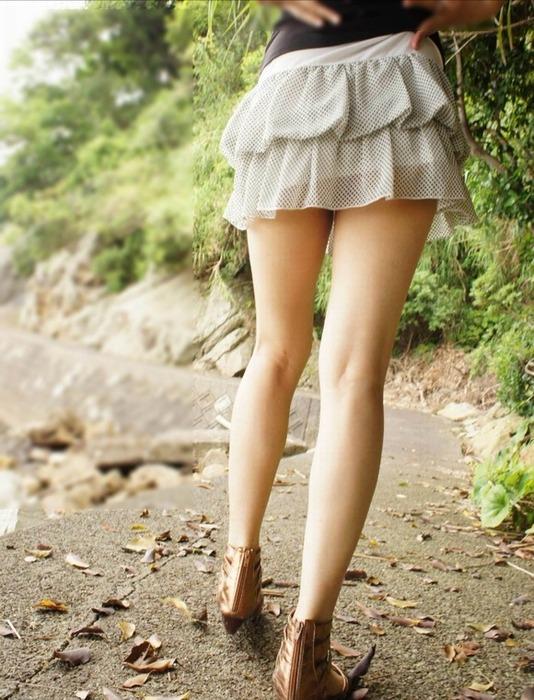 美脚が魅力的過ぎて堪らない!