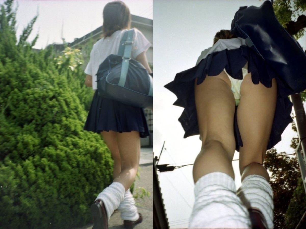 女子校生のムッチリ太腿がエロい!