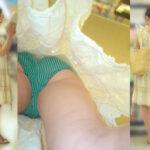 【逆さ撮り盗撮エロ画像】撮り師の強いこだわり感じたスカート真下からのパンチラ撮影!