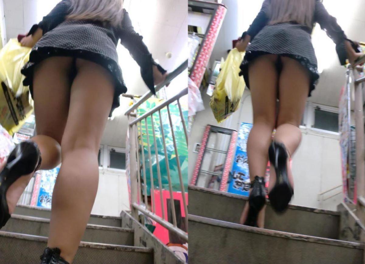 大人っぽい女性のパンツがイヤらしい!