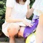【パンチラ盗撮エロ画像】素人娘の自然に見れるパンツが一番…じっくりウォッチングしようwww