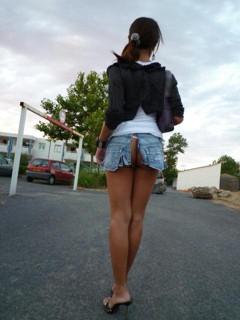 ドスケベなスカートを履いてるな!