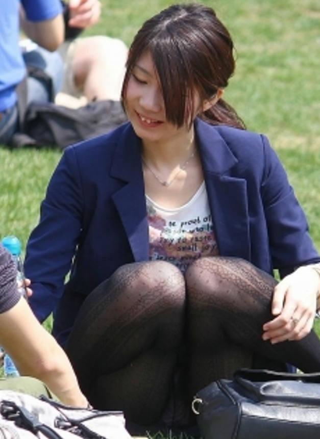 パンツがセクシーに見えて隠し撮り!