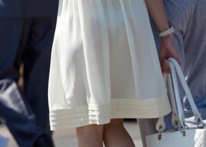 女性のパンツがクッキリ見えて最高!
